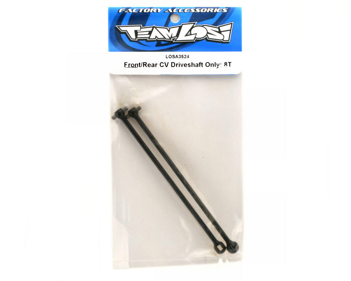 Losi Front/Rear CV Driveshaft Only (2): 8T