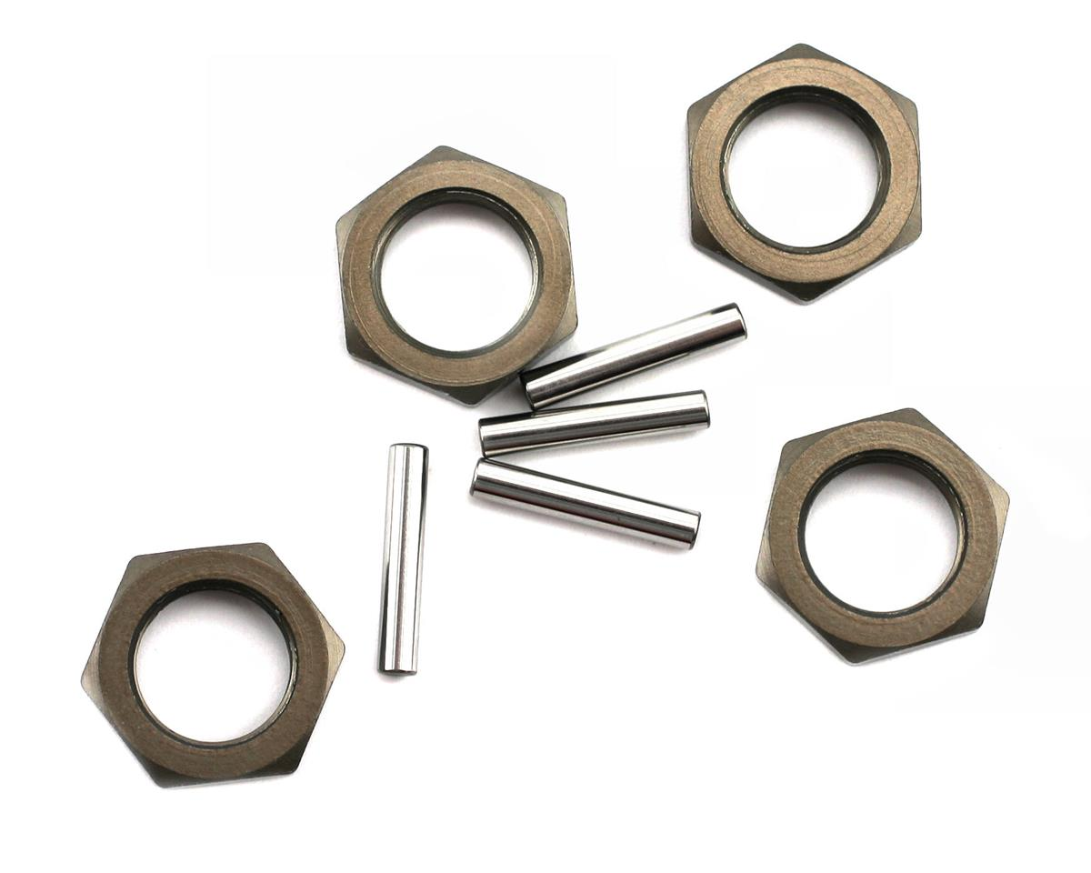 Losi Hard Anodized Wheel Nuts & Pins (4)