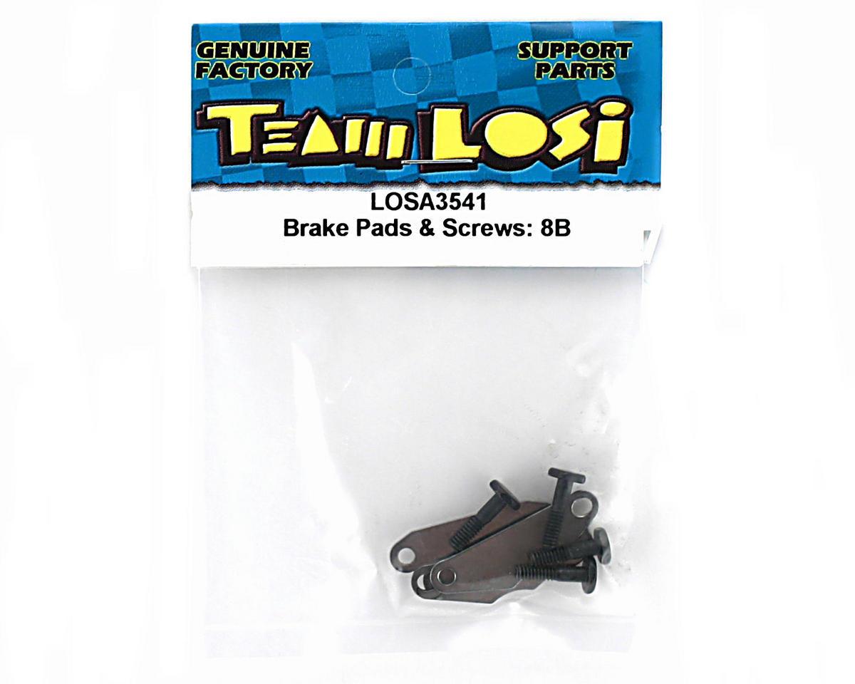 Losi Brake Pads & Screws: 8B/8T