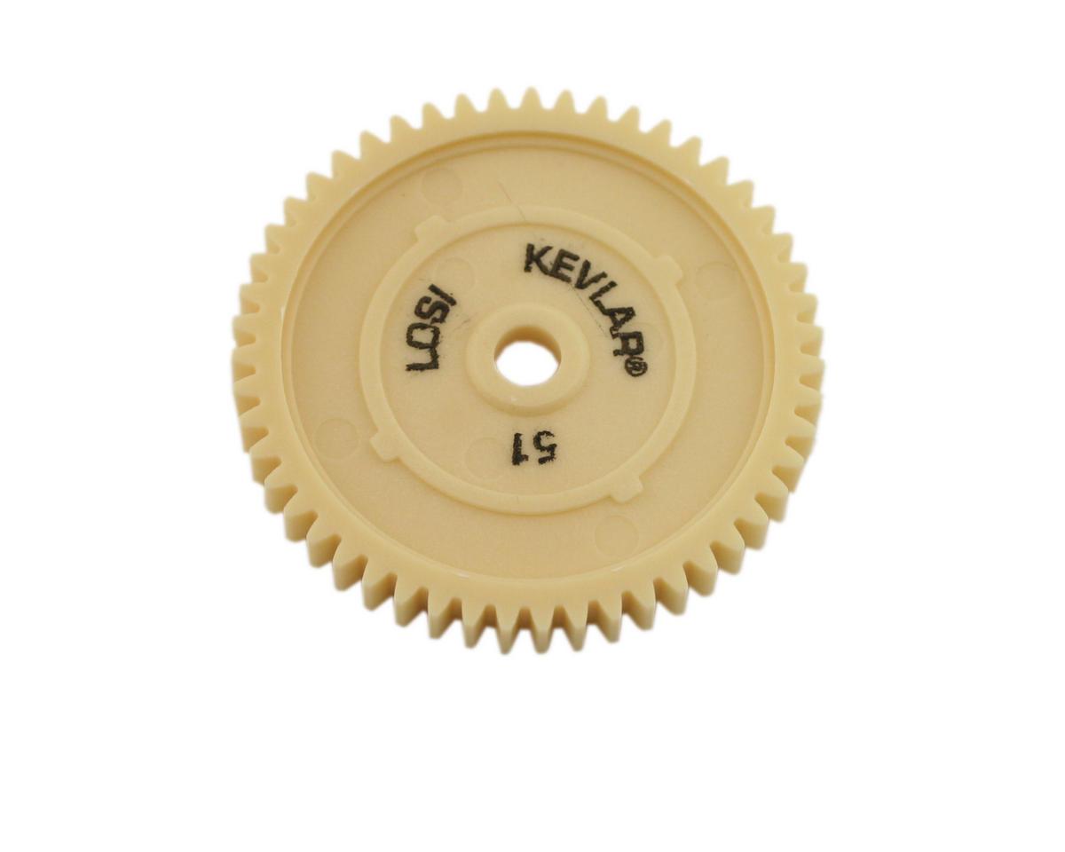 Losi 32P Kevlar Spur Gear, 51T  (XXX-NT)