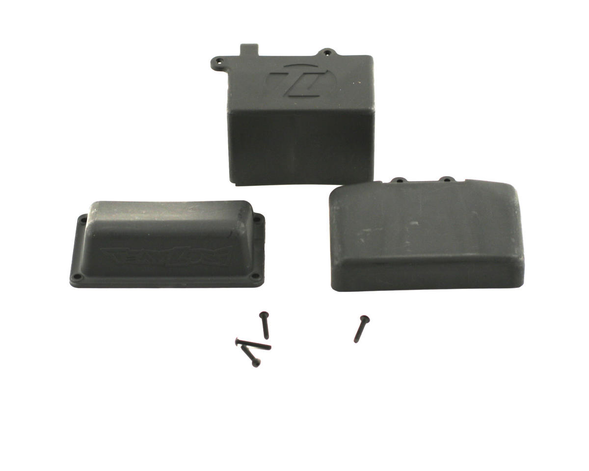 Losi Battery Box, Receiver Cover Set (XXX-NT)