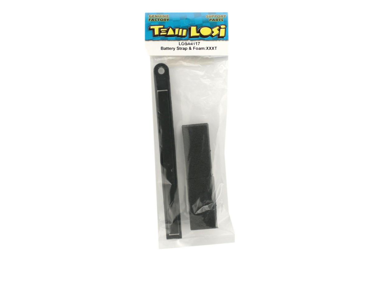 Losi Battery Strap & Foam (XXX-T)