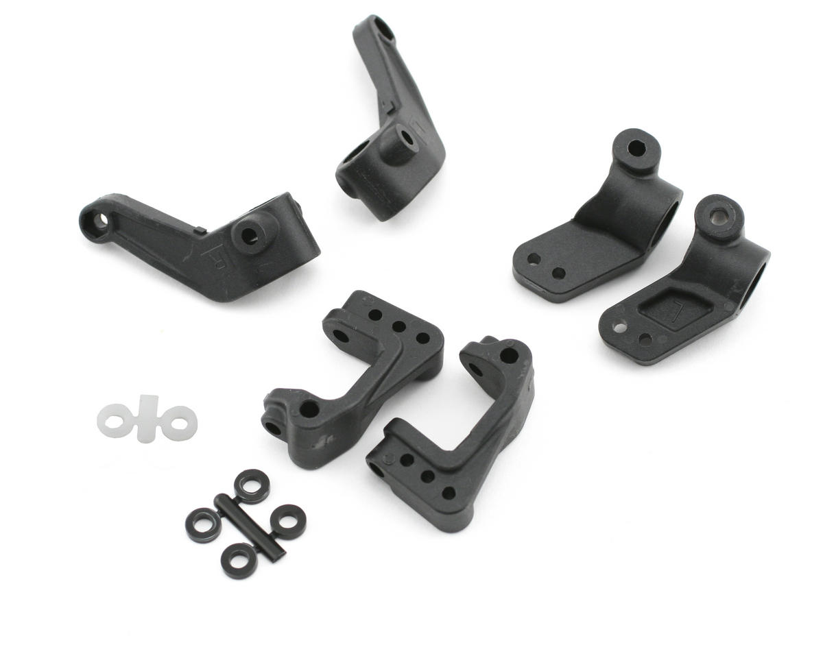 Losi XXX-SCT Front Spindles, Carriers, & Rear Hubs