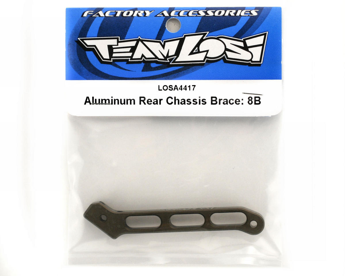 Losi Aluminum Rear Chassis Brace