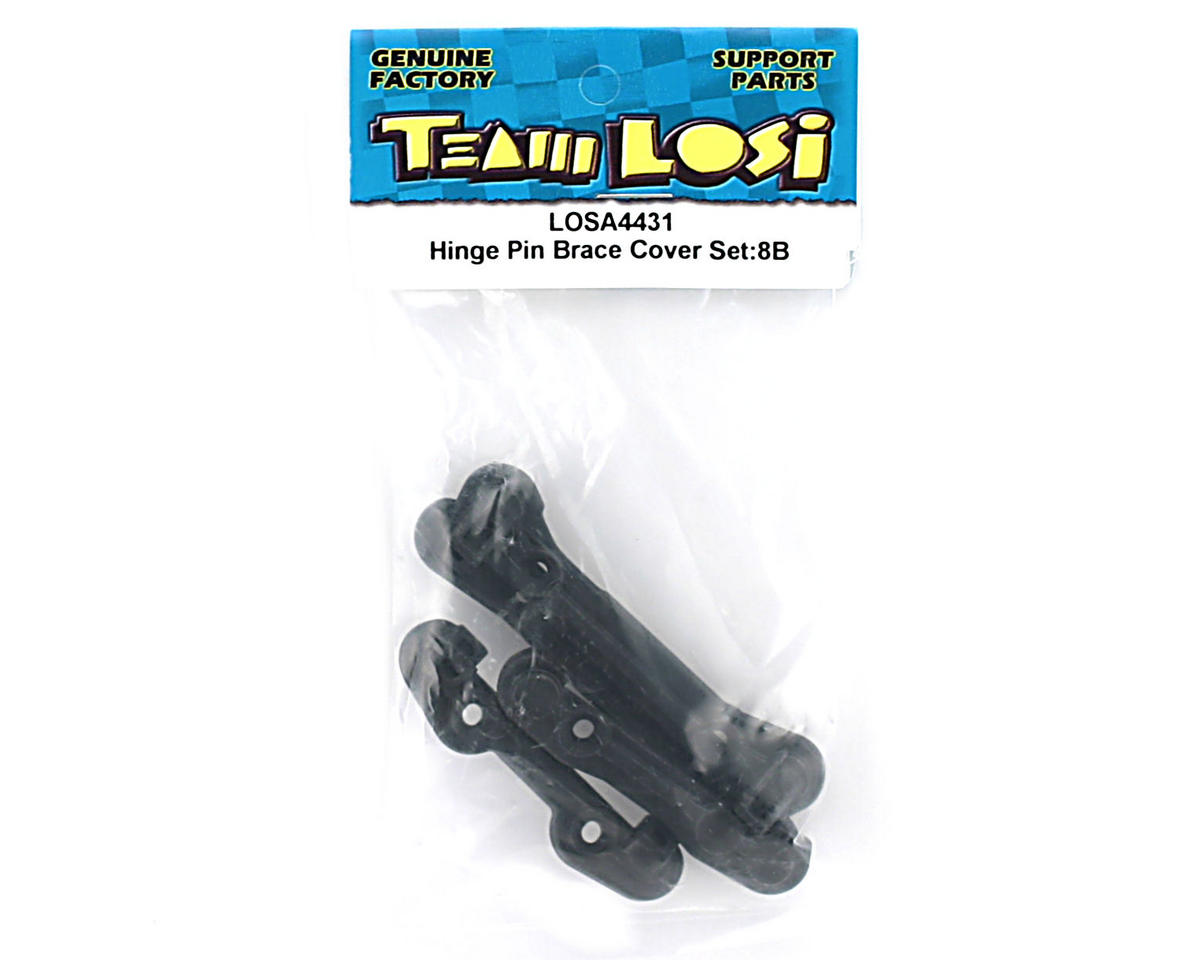 Losi Hinge Pin Brace Cover Set