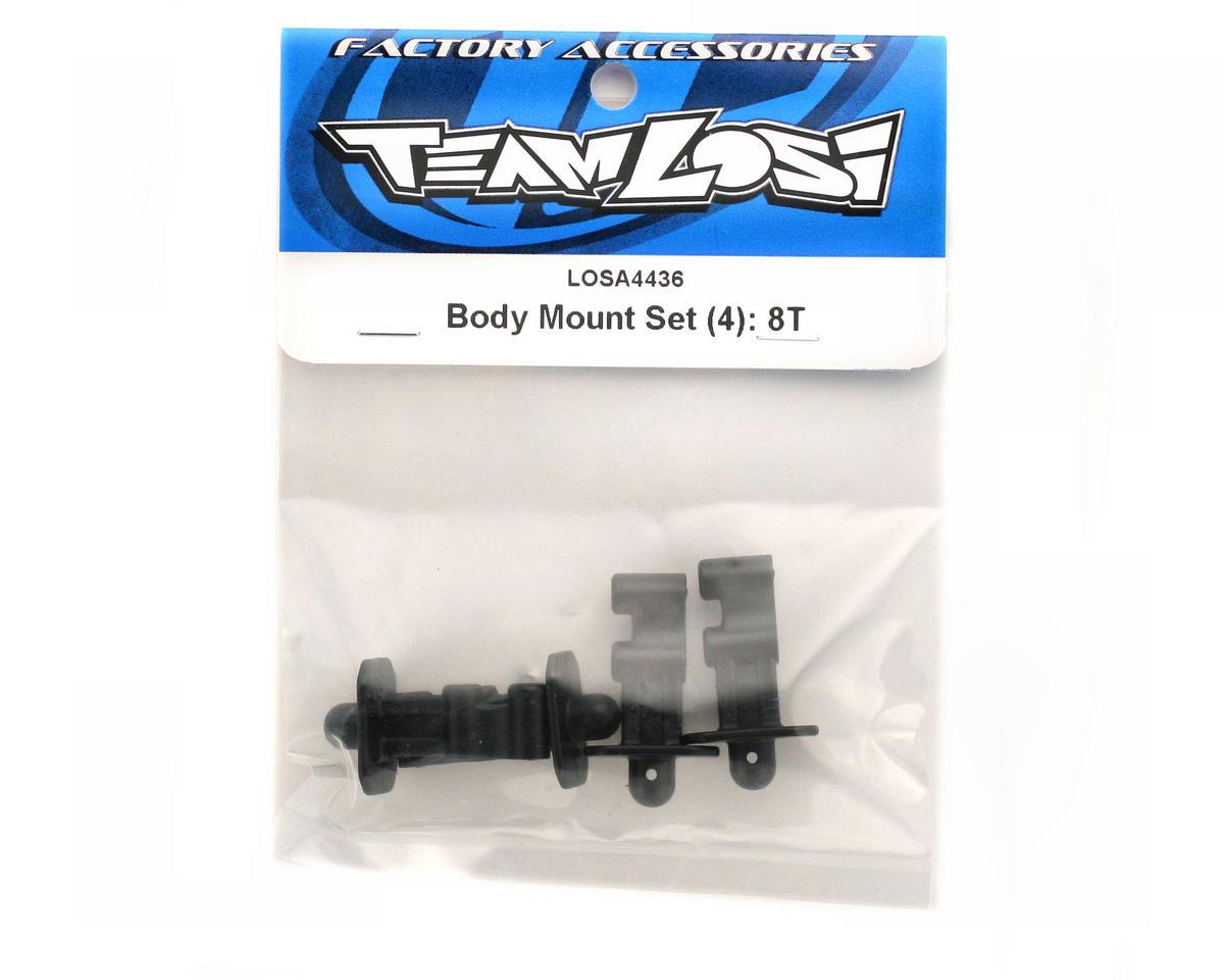 Losi Body Mount Set: 8T