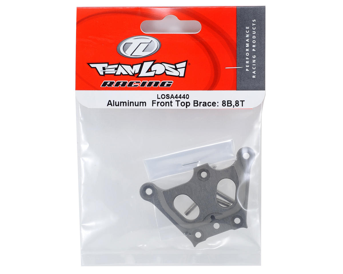 8IGHT Aluminum Front Top Brace by Losi