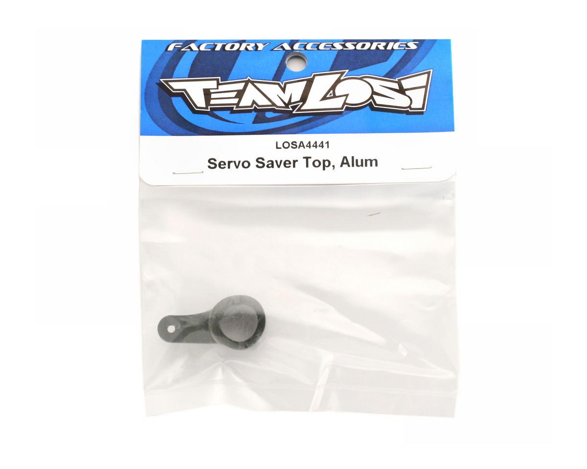 Losi 8IGHT Servo Saver Top, Aluminum: (8B/8T 1.0/2.0)