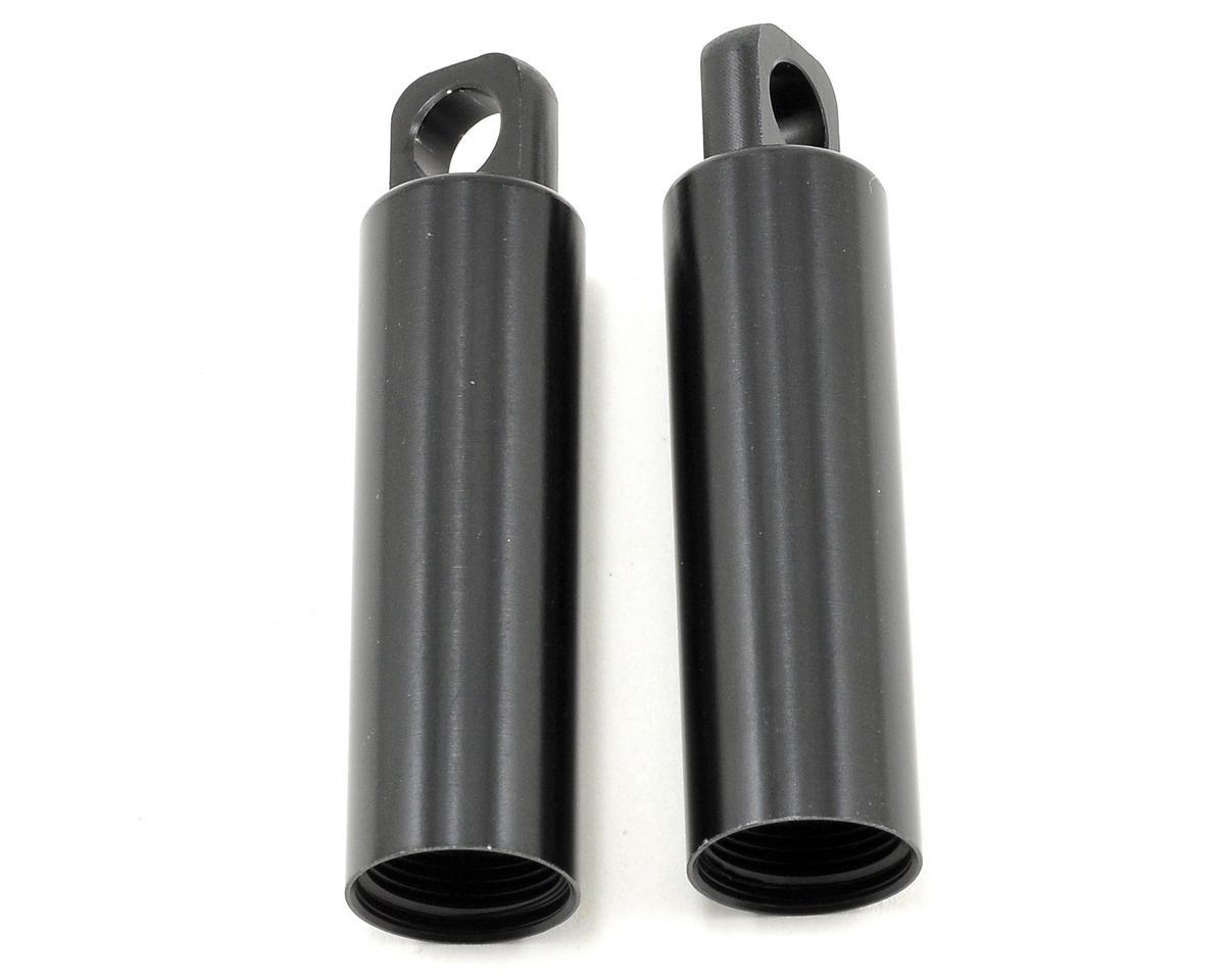 Losi Front Aluminum Shock Body Set (Black) (2)