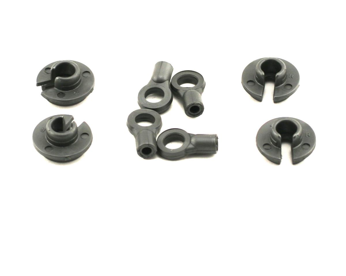 Losi XXX-4 Shock Ends & Cups (4)