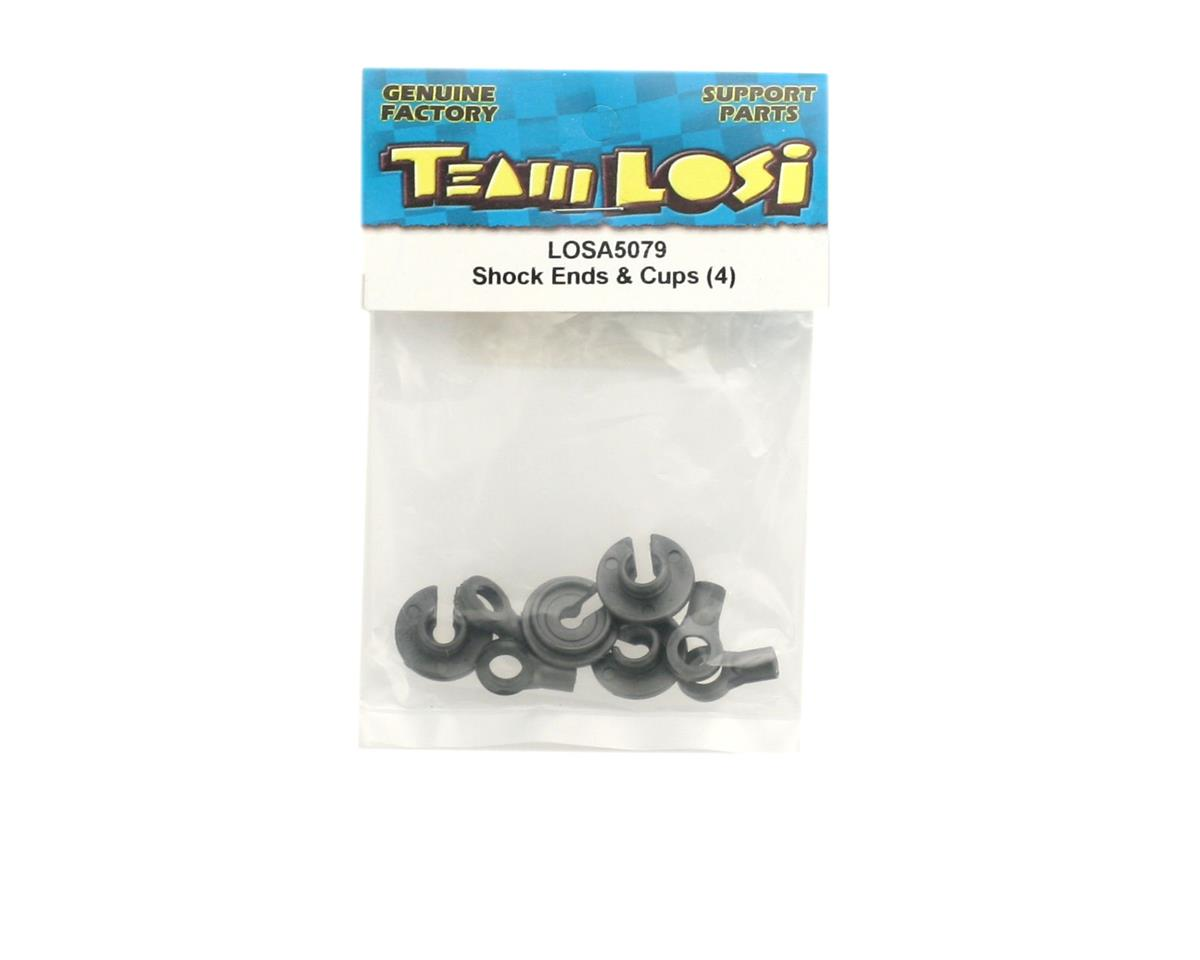 Losi Shock Ends & Cups (4)
