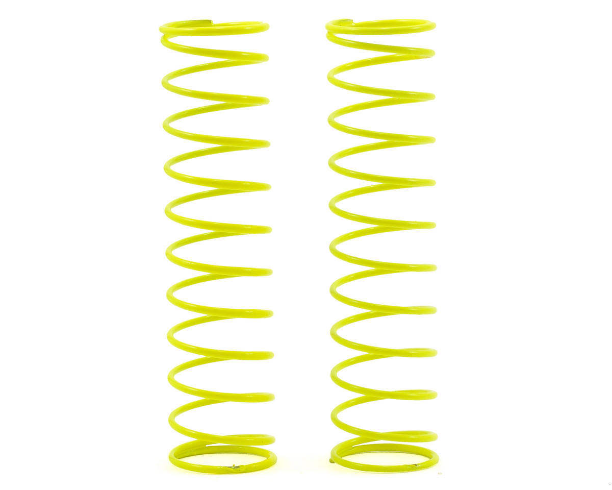 "Losi XXX-4 Shock Springs 2.75"" x 2.0 Rate (Yellow) (2)"