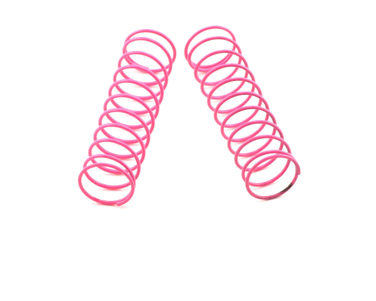 "Losi XXX-CR Shock Springs 2.5"" x 2.3 Rate (Pink) (2)"