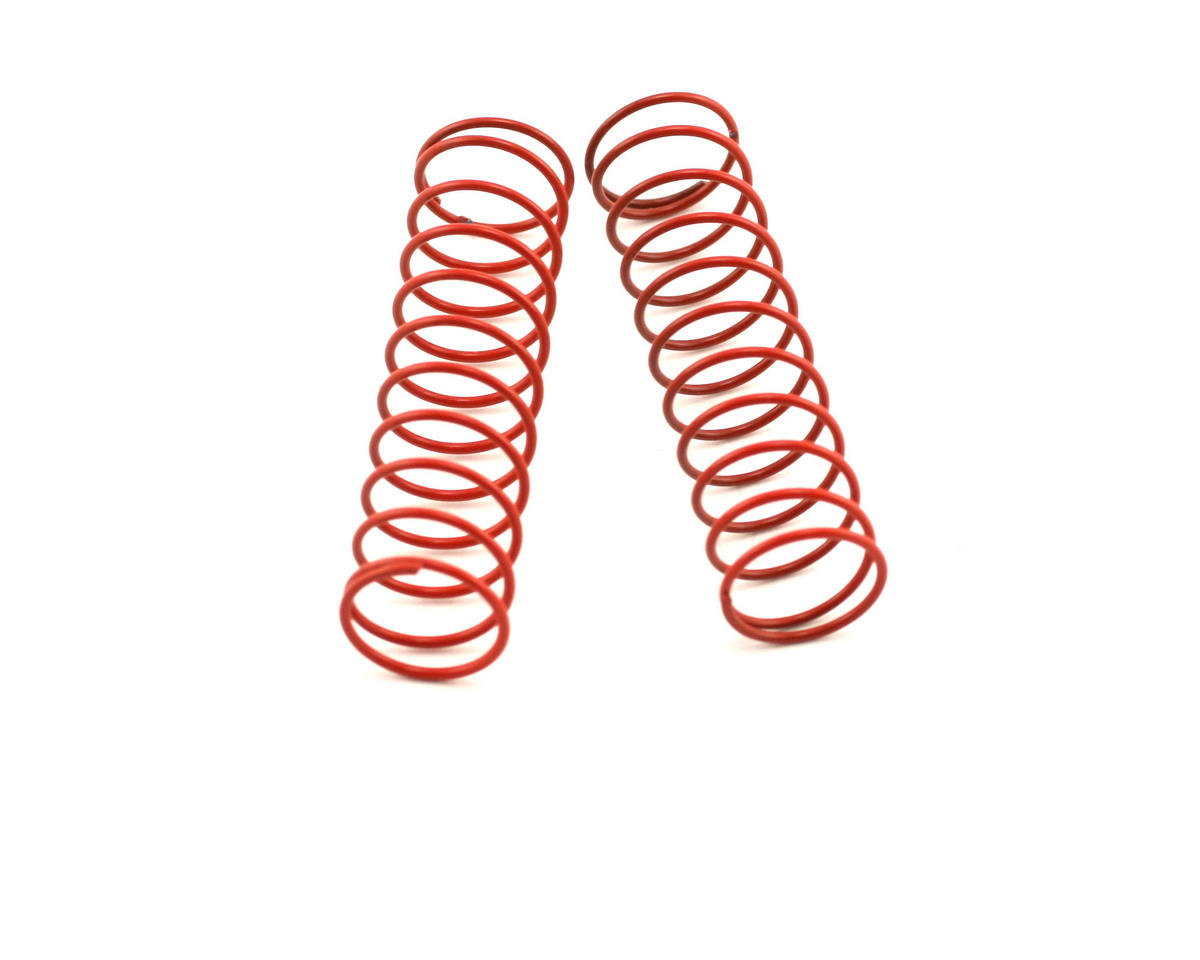 "Shock Springs 2.5"" x 2.6 Rate (Red) (2) by Losi"