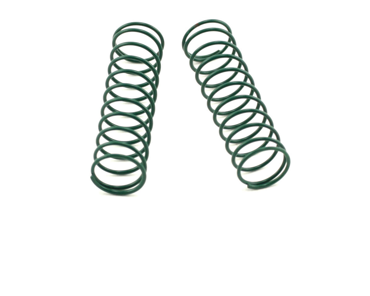 "Shock Springs 2.5"" x 3.7 Rate (Green) (2) by Losi"