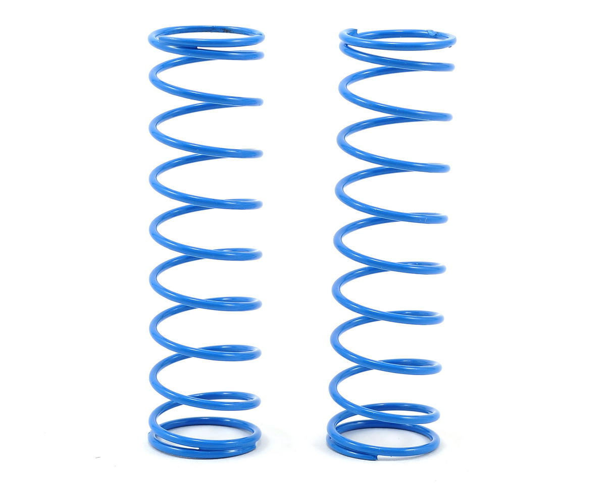 "Shock Springs 2.5"" x 4.0 Rate (Blue) (2) by Losi XXX-4"