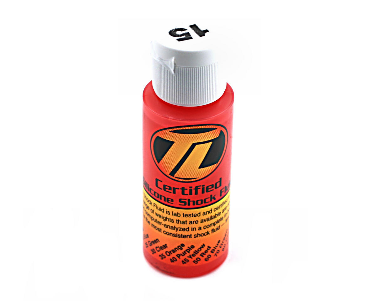 Losi Silicone Shock Oil (15wt) (2oz)
