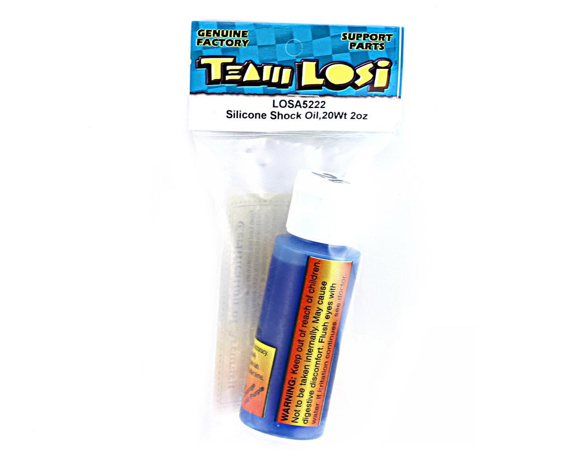 Losi Silicone Shock Oil (20wt) (2oz)