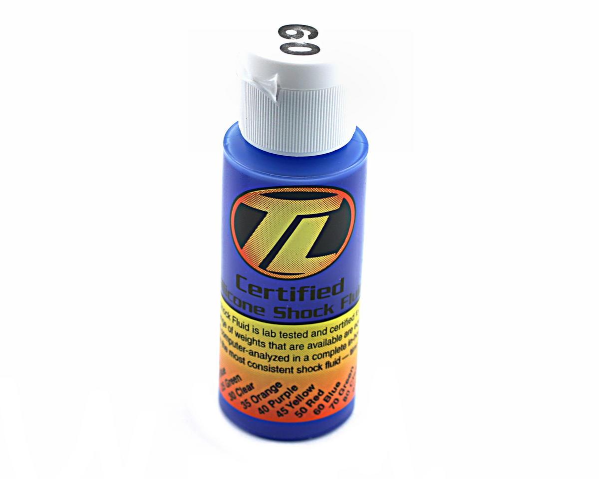 Losi Silicone Shock Oil (60wt) (2oz)
