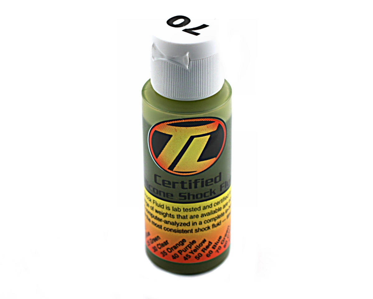 Losi Silicone Shock Oil (70wt) (2oz)