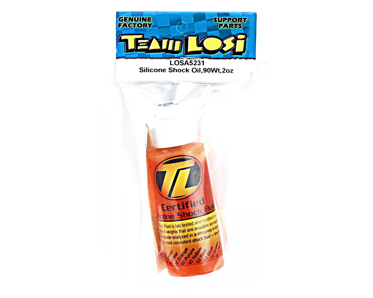 Losi Silicone Shock Oil (90wt) (2oz)