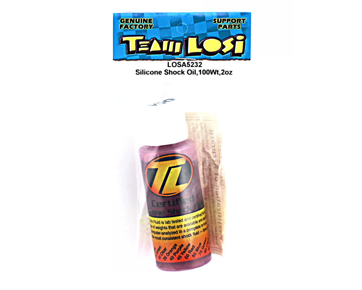Losi Silicone Shock Oil (100wt) (2oz)