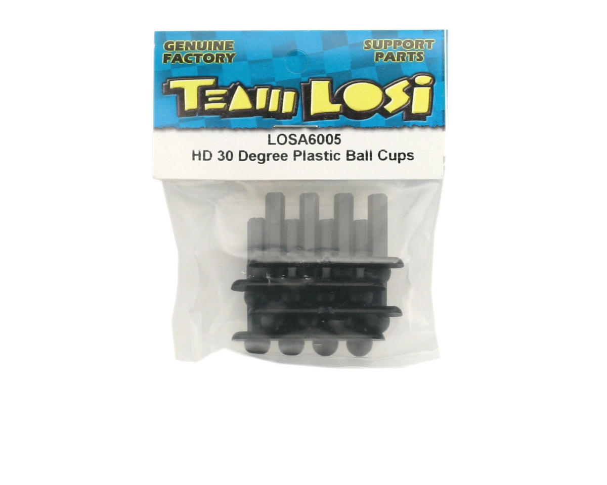 Losi Heavy Duty 30 Degree Plastic Ball Cups (12)