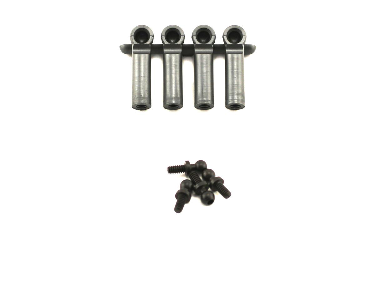 Losi XXX-CR Ball Studs & Ends Heavy Duty 4-40 x .215""