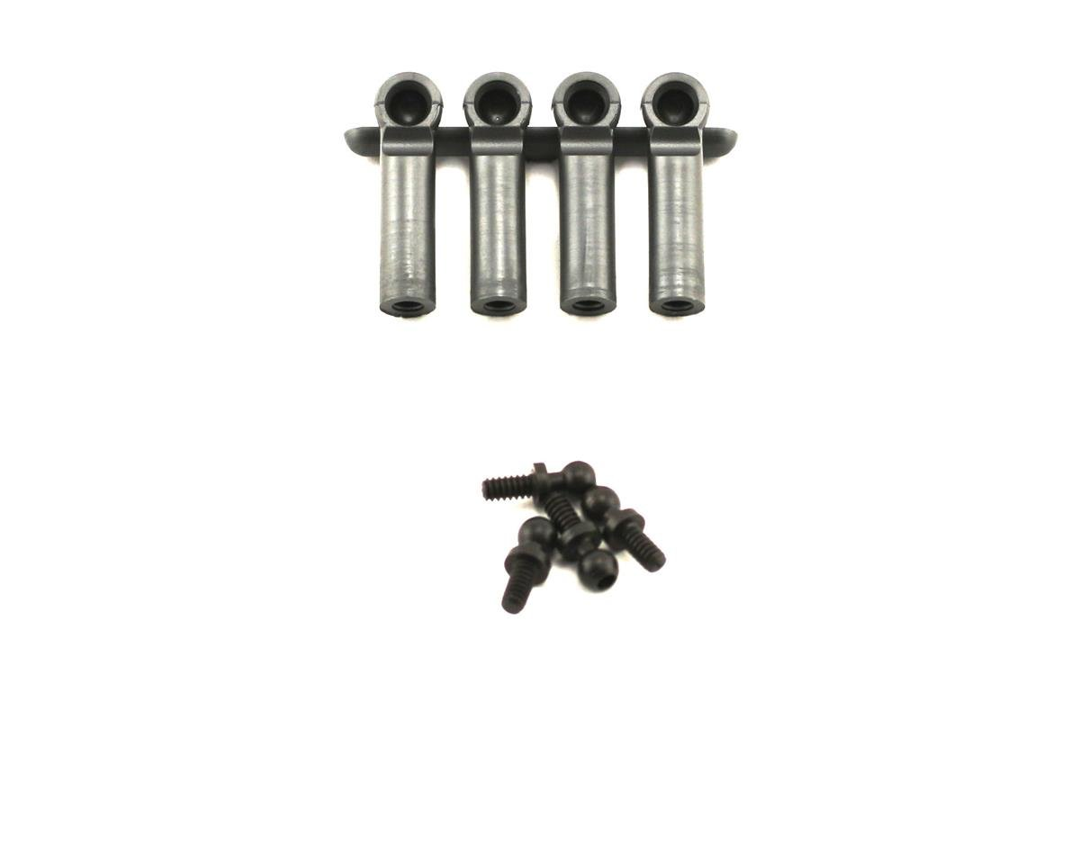 Losi Ball Studs & Ends Heavy Duty 4-40 x .215""