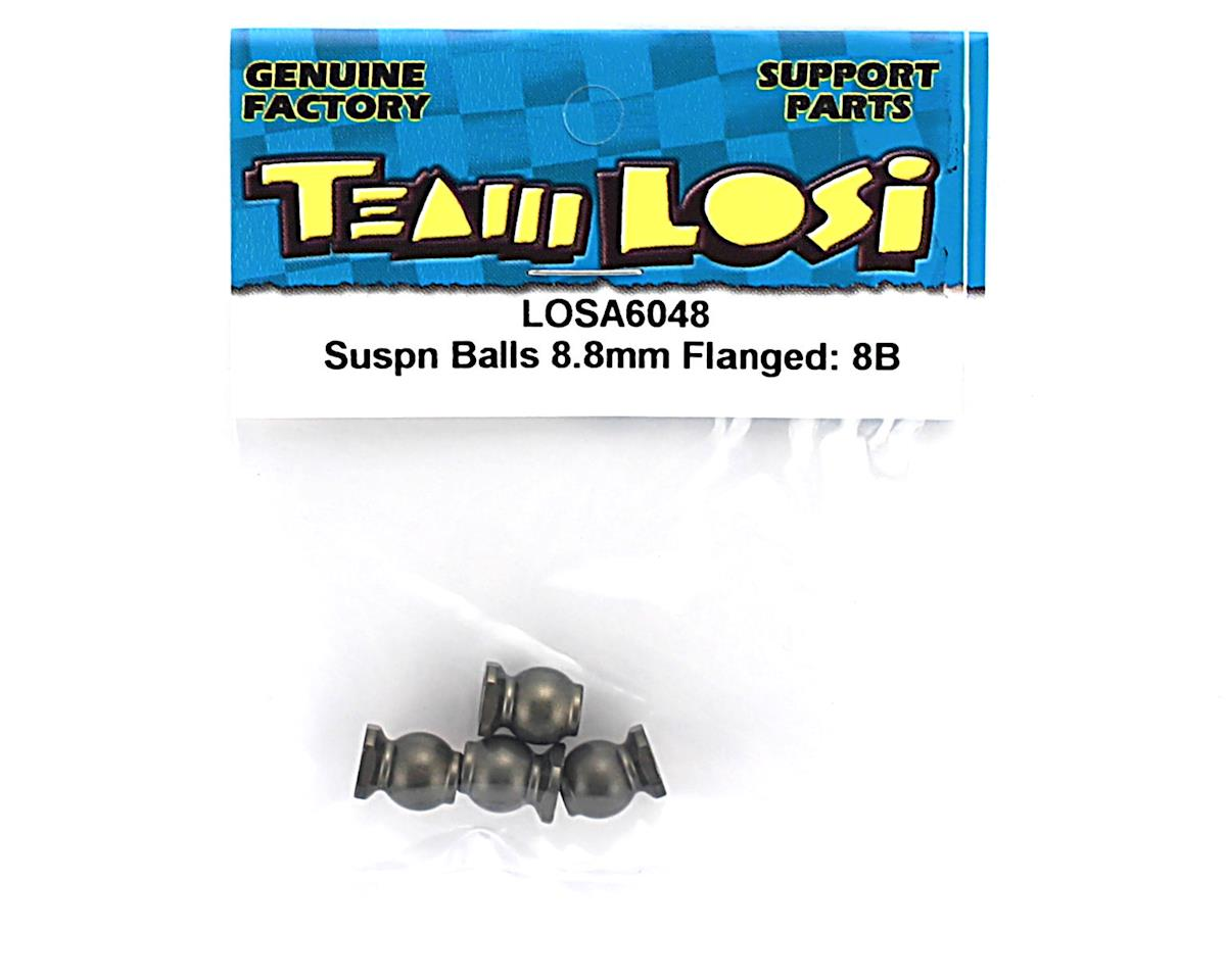 Losi Suspension Balls 8.8mm Flanged