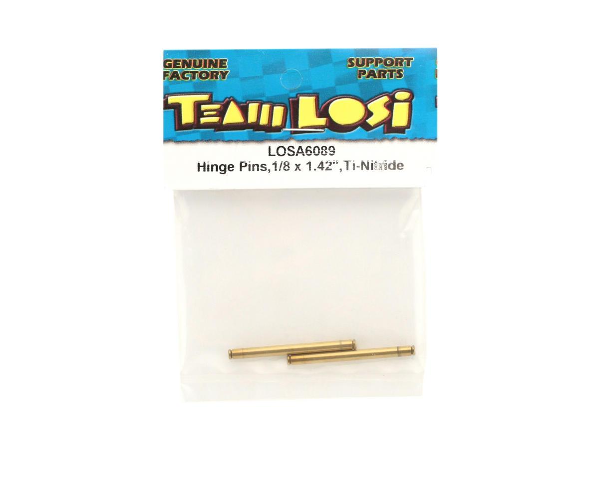 """Losi Ti-Nitride Hinge Pins,1/8 x 1.42"""""""