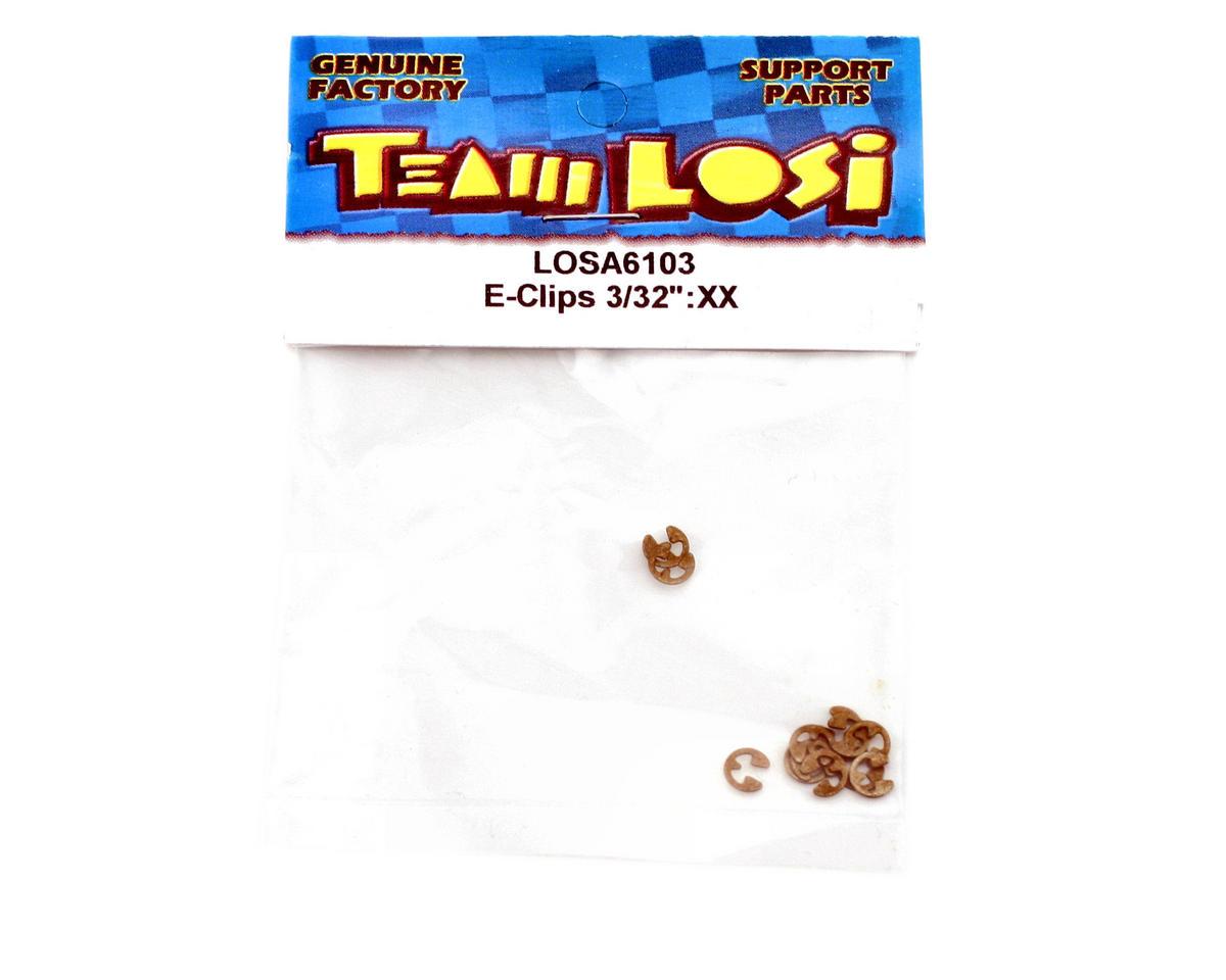 """Losi 3/32"""" E-Clips"""