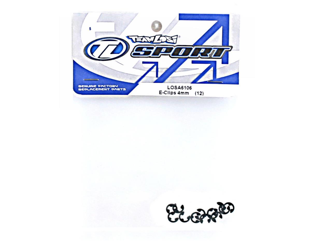 Losi 4mm E-Clips (12)