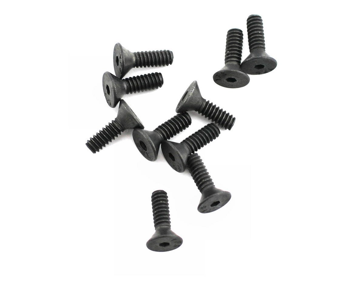 "Losi 4-40x3/8"" Flat Head Screw (10)"