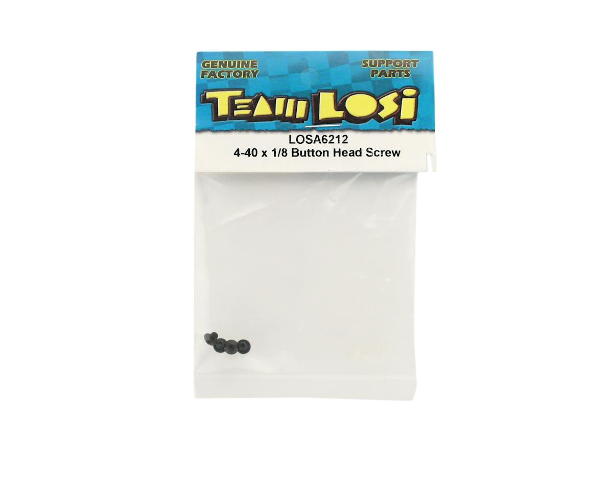 "4-40 x 1/8"" Button Head Screws by Losi"