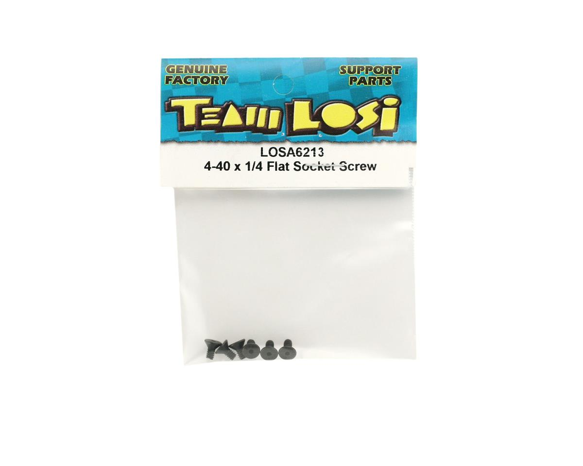 "Image 2 for Losi 4-40 x 1/4"" Flat Head Socket Screws"