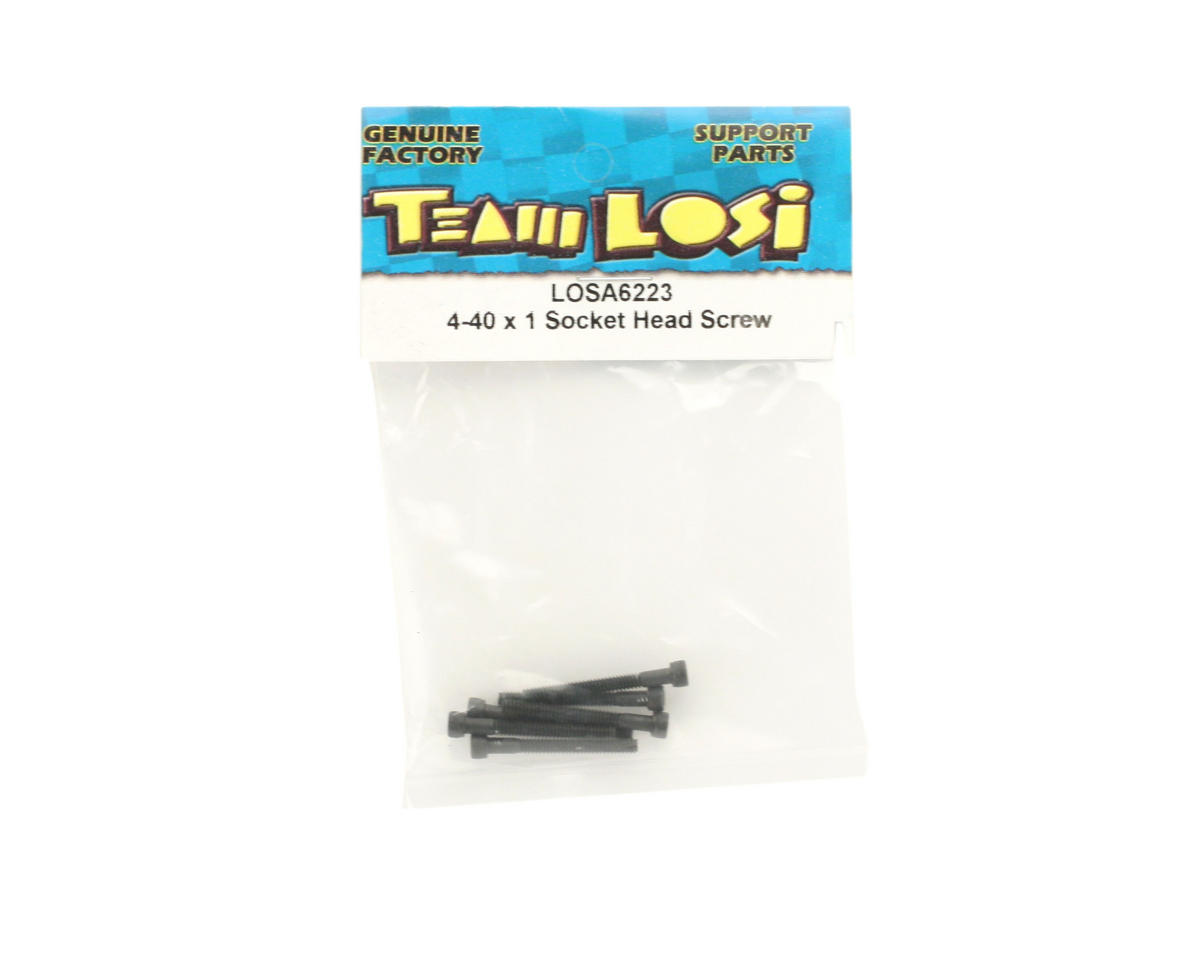 "Losi 4-40 x 1"" Cap Screws"