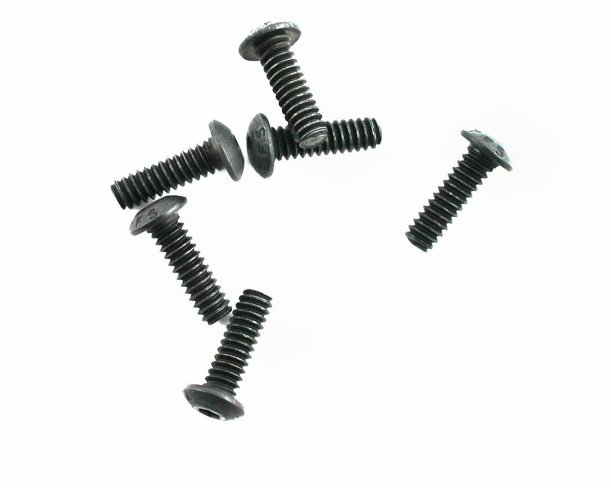 "4-40x3/8"" Button Head Screws (6) by Losi"