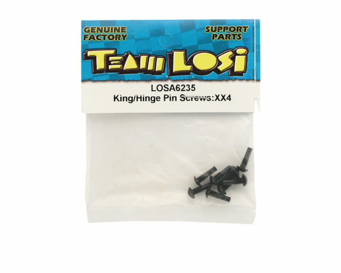 Losi King/Hinge Pin Screws (XX-4)