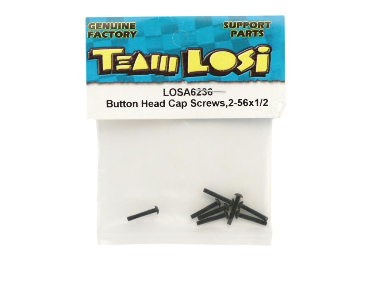 "Losi 2-56 x 1/2"" Button Head Screws"