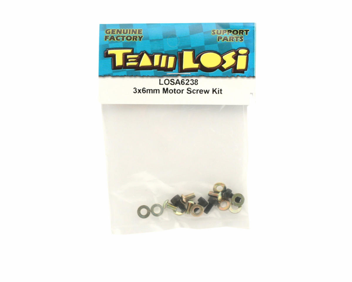 Losi 3x6mm Motor Screw Kit