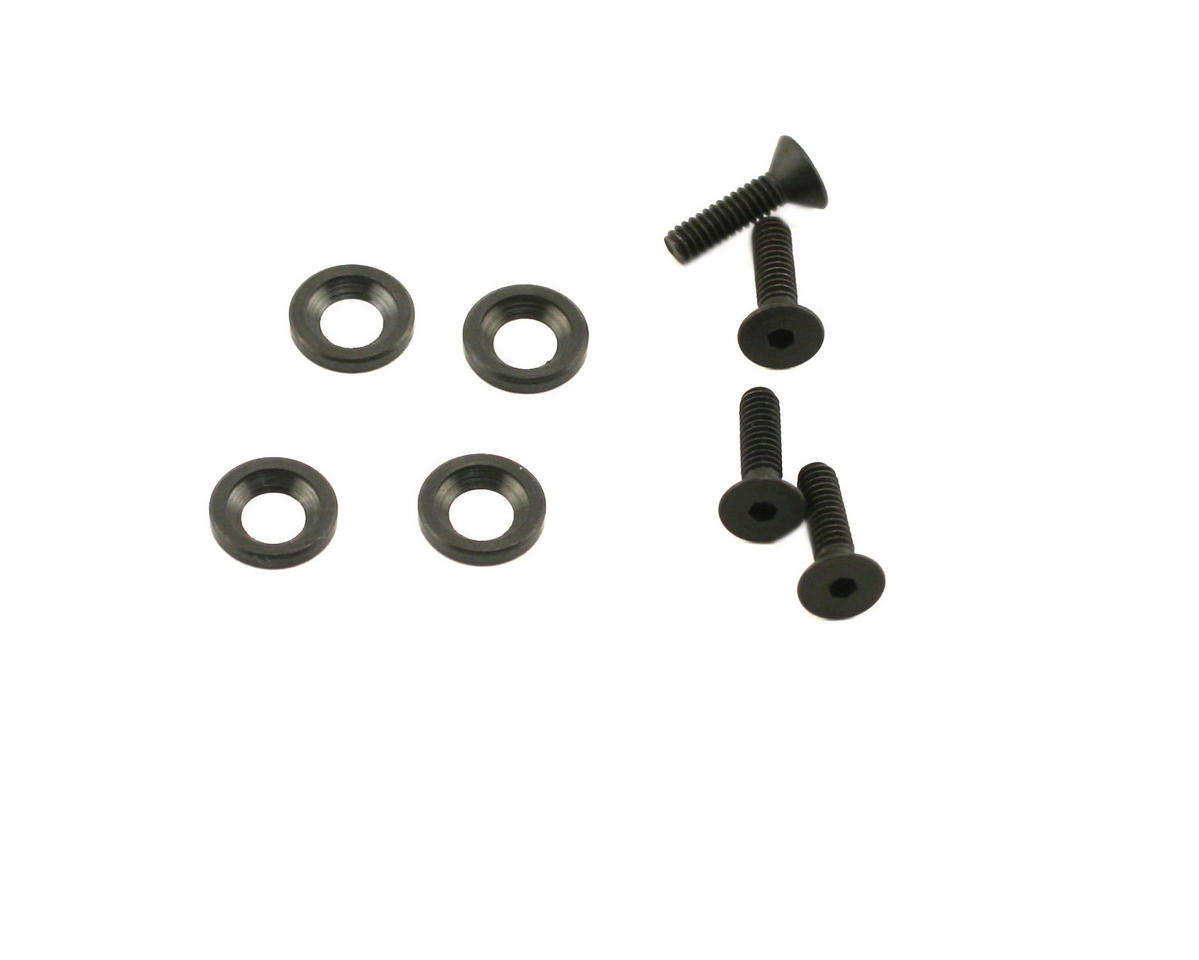 Losi Motor Mount Screws With Counter Sink Washers (NT)