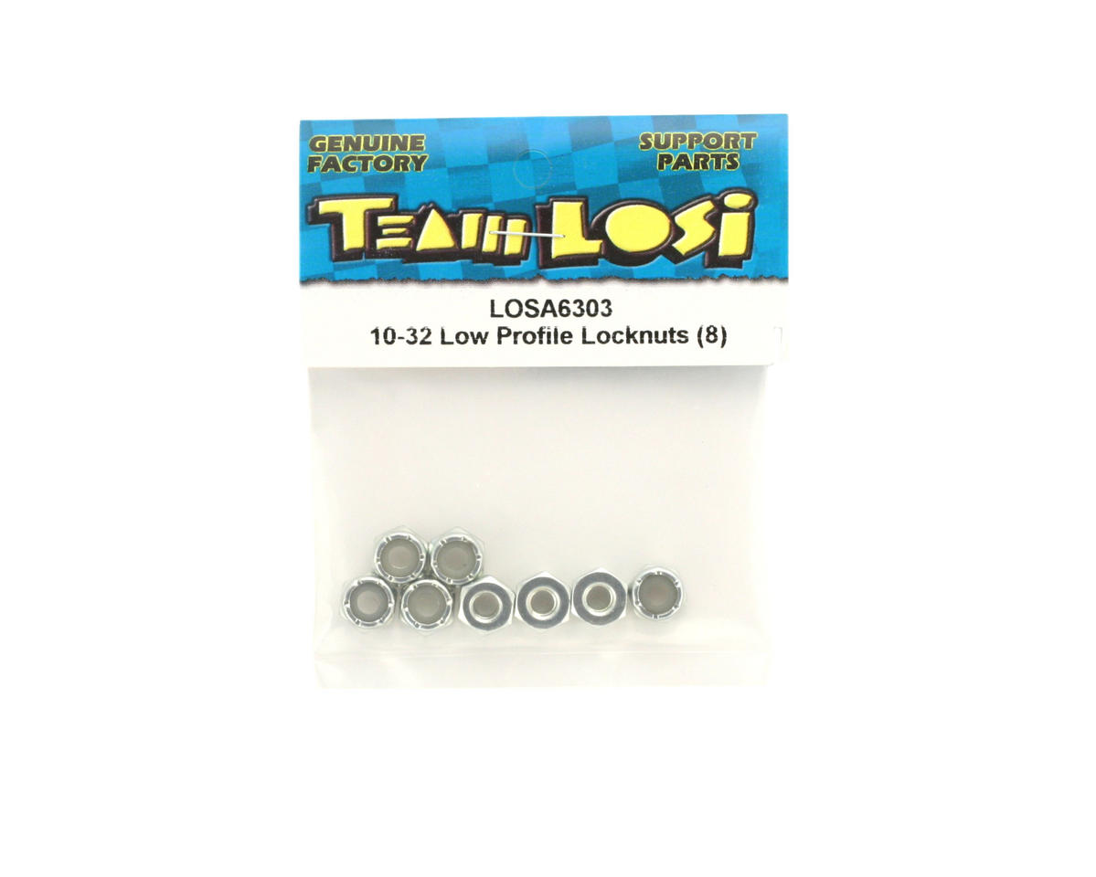 10-32 Locknut (8) by Losi