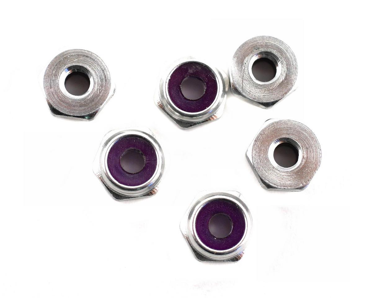 Losi 4-40 Aluminum Locknut (10)