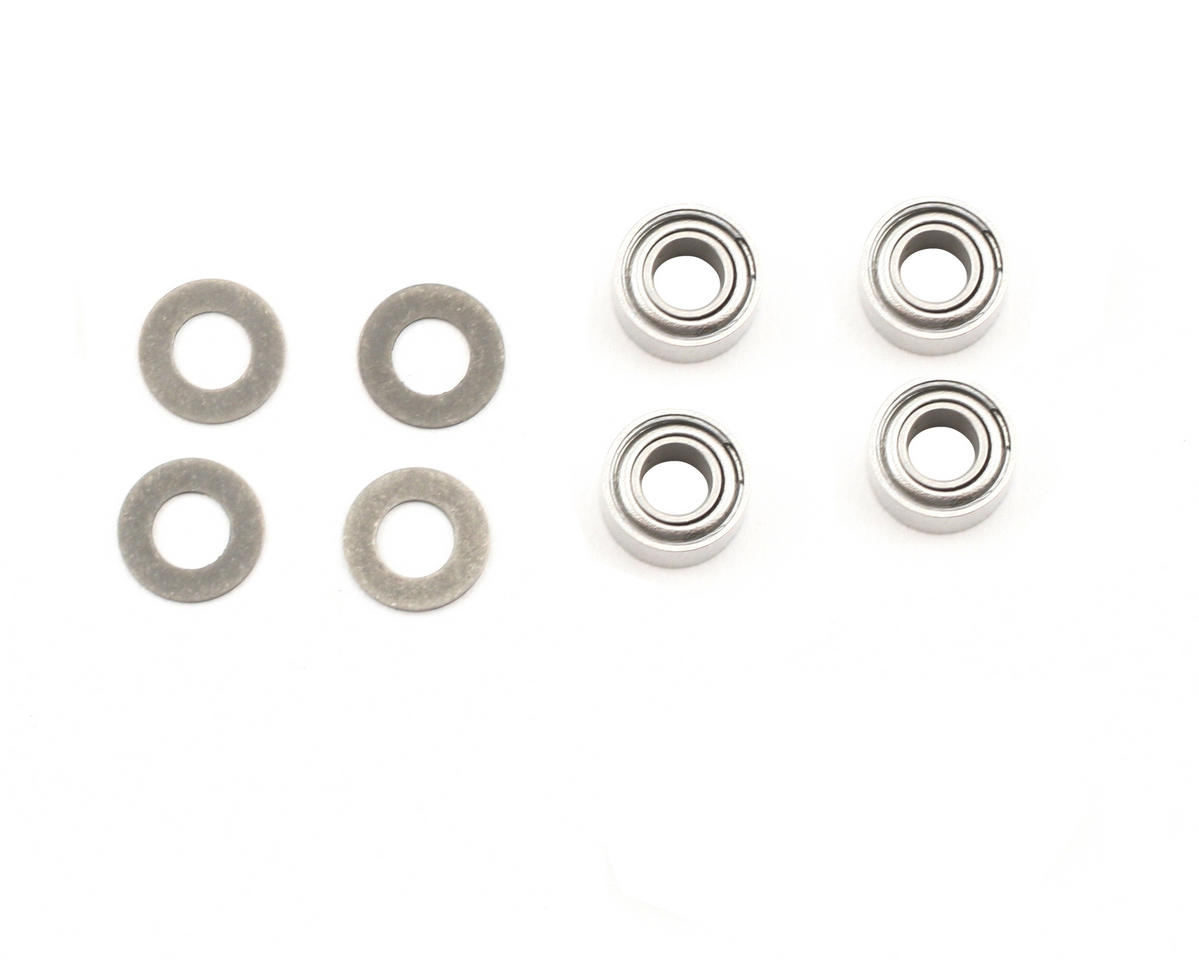 "Losi 3/32x3/16"" Steering Rack Ball Bearing (4)"