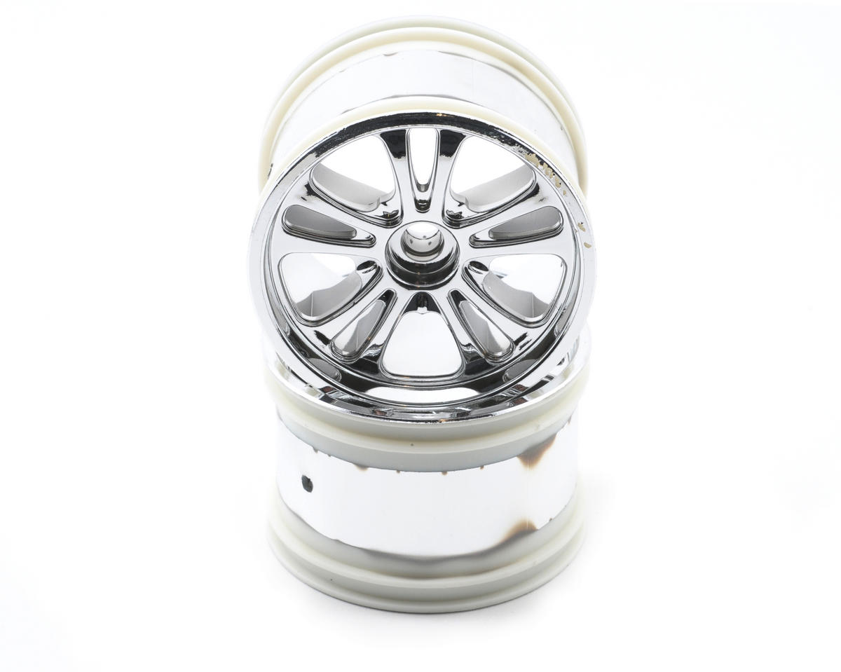 Losi 320 Series Front Spokez Chrome Wheel (2)