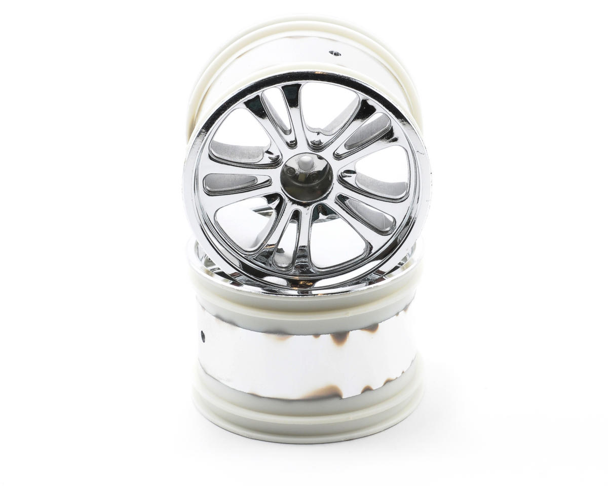 Losi 320 Series Rear Spokez Chrome Wheel (2)