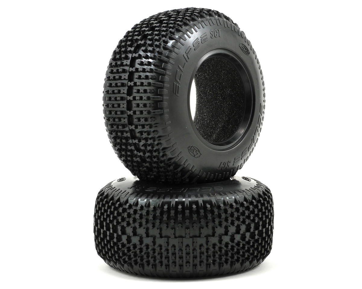 Losi XXX-SCT Eclipse Short Course Tire Set (2)