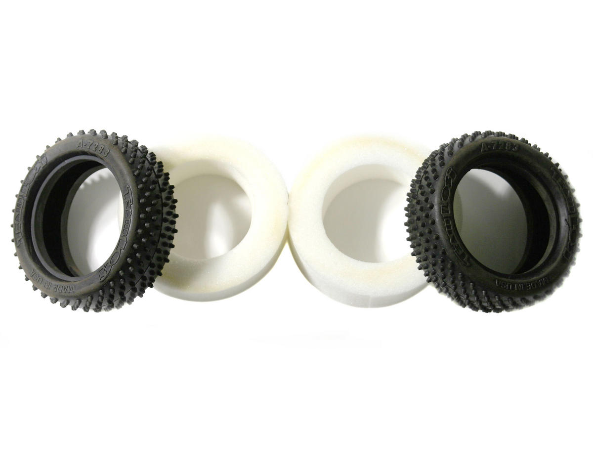 "Losi IFMAR Stud 2.2"" 4WD Front Buggy Tires (Silver) (2)"