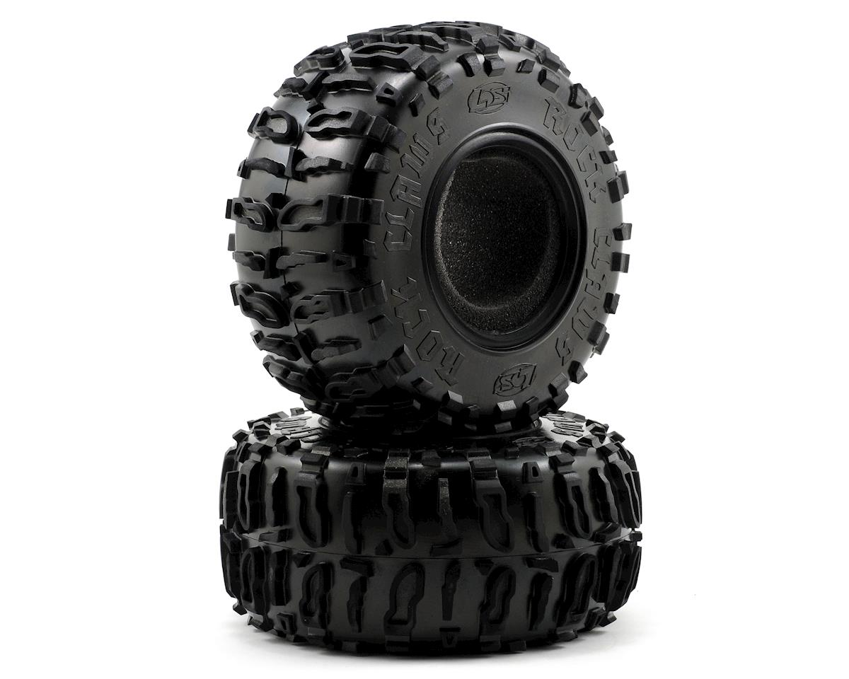"Losi Rock Claws 2.2"" Crawler Tires w/Foam (Blue) (2)"